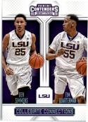 2016-17 Contenders Draft Picks Collegiate Connections #5 Ben Simmons/Tim Quarterman  Basketball
