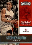 2016-17 Contenders Draft Picks Old School Colors #19 Stephen Curry  Basketball